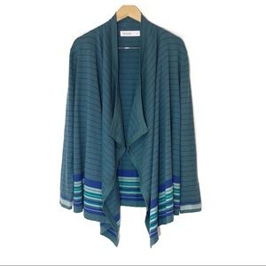 NWT Carve Designs Waterfall Front Cardigan Sweater